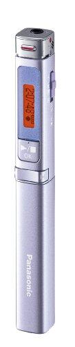 パナソニック ICレコーダー 4GB スティック型 バイオレット RR-XP007-V