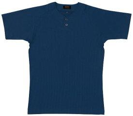 ZETT(ゼット) 野球 ベースボールシャツ (プルオーバー) BOT520A ネイビー XO