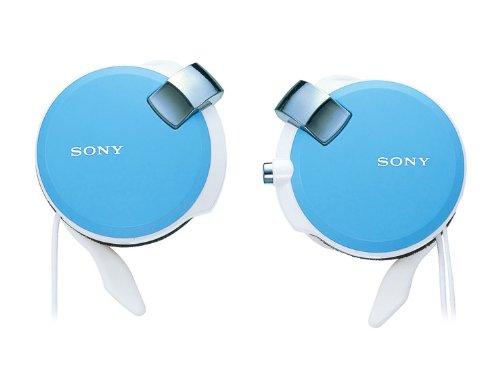 ソニー SONY ヘッドホン コード巻き取り式 薄型耳かけスタイル ブルー MDR-Q38LW L