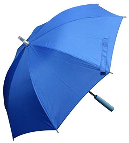 光る傘 レインボーフラッシュLED傘 48cm 子供用 ライトブルー LEDUmbrella_BL_C
