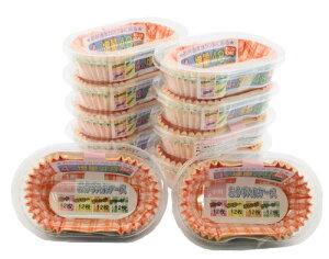 お弁当 ケース おかず入れ 小判型 10個パック 約48枚入 計約480枚 業務用 チェック柄