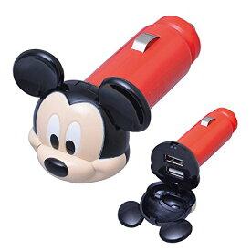 セイワ(SEIWA)ディズニー USBソケット ミッキー ホワイトLED