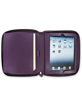 filofax iPadシステム手帳 ペニーブリッジ パープル 028034 〔正規輸入品〕
