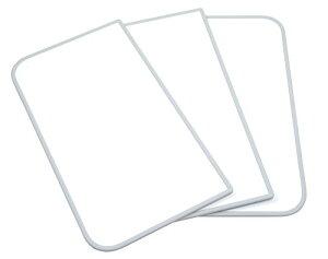 東プレ 抗菌タイプ 組み合わせ式風呂ふた センセーション(3枚割) 70×140cm ホワイト/ホワイト U14