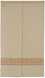 narumikk インド綿のれん ロビン 150cm丈 19-644