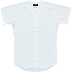 ZETT(ゼット) 野球 ユニフォーム シャツ BU1071 ホワイト L
