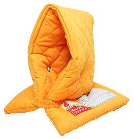 ファシル 防災対策 小学生用 プレミアム 防災頭巾 オレンジ 8069