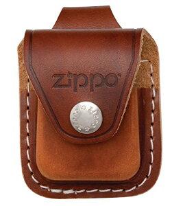 ZIPPO ジッポー ライターケース レザー ループタイプ ブラウン LPLBW