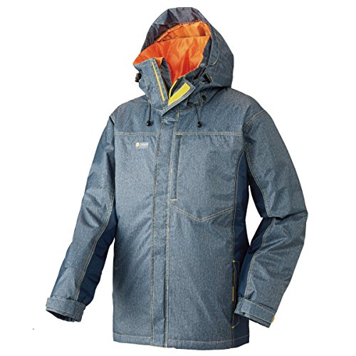 ロゴス リプナー 防水防寒ジャケット・ネイト 30795143 デニム M