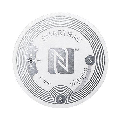 サンワサプライ NFCタグ(大容量888byte、5枚入り) クリア MM-NFCT2