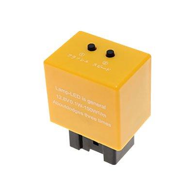 7ピンタイプ ICウインカーリレー マツダ車対応 ハイフラッシュ対策 点灯/点滅速度調整機能内蔵