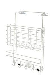 コシオカ産業 冷蔵庫サイドラック 2WAYタイプ ホワイト