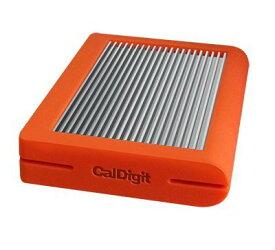 CalDigit Tuff USB-C ポータブルHDD 2TB USB 3.1 バスパワー - Orange
