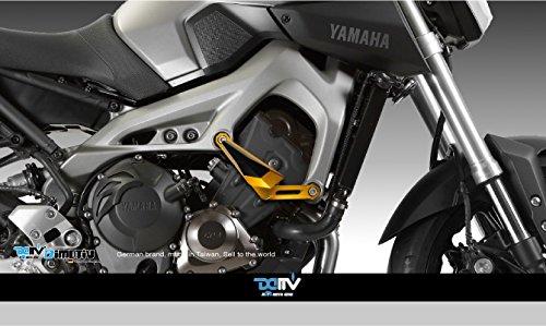 Dimotiv DMV フレームスライダーFrame Slider YAMAHA MT-09 13-14 ブラック DI-FRS-YA-01-K
