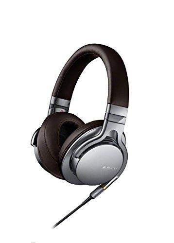 SONY(ソニー) 密閉型ヘッドホン ハイレゾ音源対応 リモコン・マイク付 シルバー MDR-1A/S [並行輸入品]
