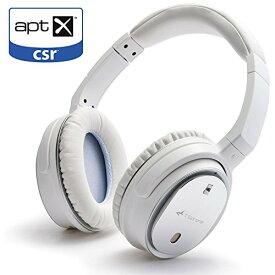 TSdrena Bluetooth4.1 ワイヤレスヘッドホン ノイズキャンセリング機能 / apt-X対応 / 密閉型 ホワイト AUD-BSHDP02W
