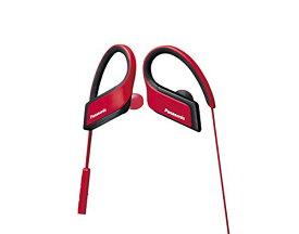 パナソニック Bluetooth対応 カナル型ワイヤレスイヤホン 防滴仕様 スポーツ向け レッド RP-BTS30-R