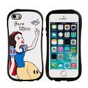 iPhone SE ケース iPhone5s iPhone5 カバー ディズニー iface First Class ガールズ ストラップホール 正規品 / 白雪姫