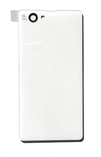 SONY Xperia Z1 Compact(Z1 f) 用 バックプレート交換用パーツ ZONE?オリジナル ソニー エクスペリア Z1コンパクト向けバックパネル docomo SO-02F対応品 (ホワイト)