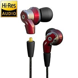 Radius HP-NHR31R(赤) ハイレゾ対応インナーイヤーヘッドフォン ラディウス HPNHR31