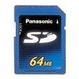 Panasonic SDメモリーカード 64MB RP-SD064BL1A