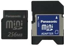 Panasonic ミニSDメモリカード 256MB RP-SS256BJ1K