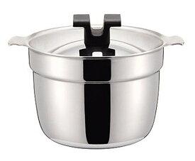 ライスポット 炊飯鍋 S-タイプ 【全面ステンレス・アルミ芯3層鋼】 2合 RP-2S