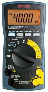 SANWA デジタルマルチメータ CD771-P ブリスターパック入