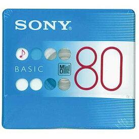 SONY 録音用ミニディスク BASIC 80分