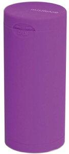 ドリームズ 携帯灰皿 ポケット アッシュトレイ ラバー ハニカム 6本収納 バイオレット MDL45114