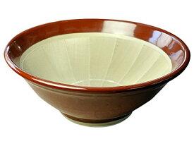石見焼 すり鉢 7号 (直径22cm・すべり止め付) 赤茶色