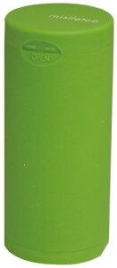 ドリームズ 携帯灰皿 ポケット アッシュトレイ ラバー ハニカム 6本収納 グリーン MDL45116