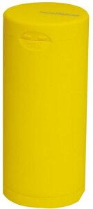 ドリームズ 携帯灰皿 ポケット アッシュトレイ ラバー ハニカム 6本収納 イエロー MDL45118