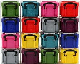 不二貿易 収納ケース R.U.BOX プラスチック 0.14L 16マス マルチソリッド 20728[un]