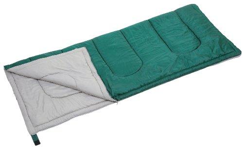 キャプテンスタッグ 寝袋 シュラフ プレーリー封筒型シュラフ600 グリーン [最低使用温度15度] M-3448