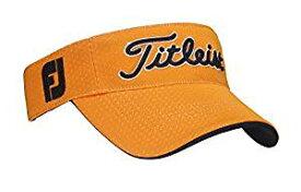 TITLEIST(タイトリスト) ラウンディッシュバイザー バイザー メンズ HJ7VRC-OR オレンジ サイズ:フリー(57-59cm)[un]