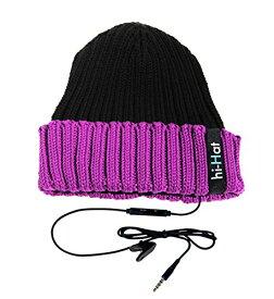 (ハイ-ファン)hi-Fun hi-Hat HFHIHAT-BKVL Black/Violet F