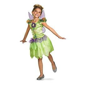 Disney Fairies - Tinker Bell Rainbow Classic Toddler / Child Costume ディズニーの妖精 - ティンカーベルレインボークラシック幼児/子供コスチューム♪ハロウィン♪サイズ:Medium (7/8)[un]