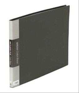 キングジム クリアーファイル カラーベース B4 (E型) 20枚 140C 黒