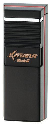 WINDMILL ウインドミル ガスライター KATANA フラットフレーム ブラック W08-0003