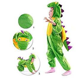 子供用 恐竜コスチューム ハロウィン着ぐるみ コスプレ Lサイズ 105〜120cm[un]