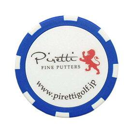 Piretti(ピレッティ) グリーンマーカー Accessories Casino Chip カジノチップマーカー ユニセックス PR-CM0001 Blue[un]