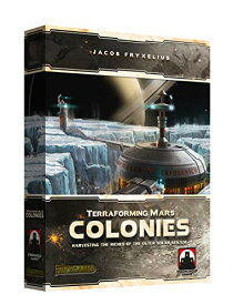 Stronghold Games 7203SG Terraforming Mars The Colonies[un]