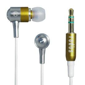 radius インナーイヤーヘッドホン radHeadphones イエロー HP-RHF41Y