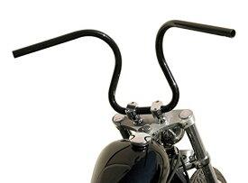 イージーライダース バイクハンドル ルーズバー スチール 1φ ブラック UNIVERSAL 0759-BK