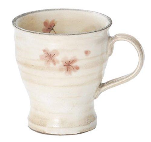 美濃焼 穂花 マグ ピンク K21213