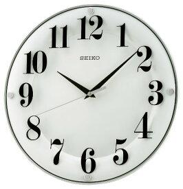 セイコー クロック 掛け時計 アナログ 白 KX608W SEIKO[un]