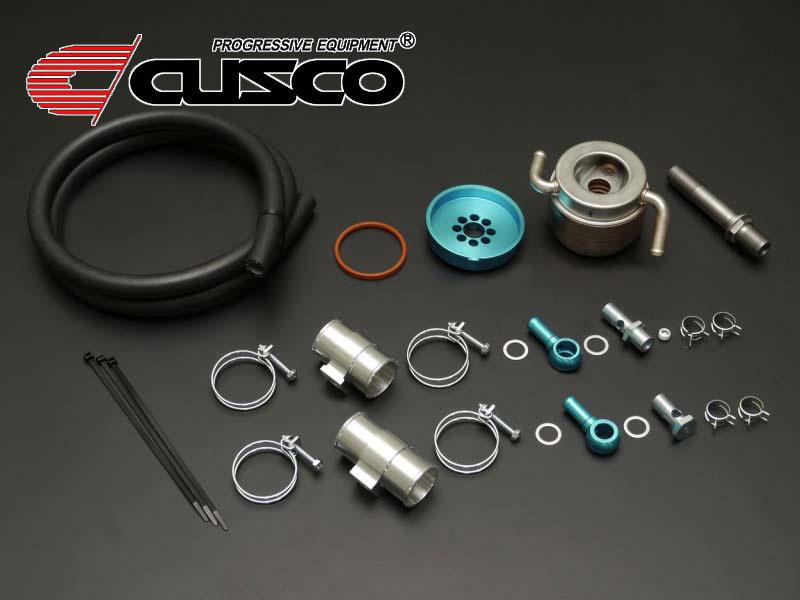 [CUSCO]ZC6 BRZ用水冷式エンジンオイルクーラー(水冷式7段コア)【965 012 AN】