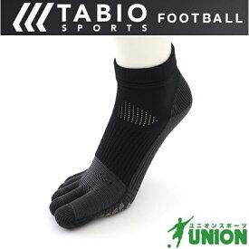 サッカーソックス TABIO UNION別注ショート5本指ソックス(シリコンラバー ゴールドver) 072130034