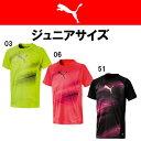 ジュニアサッカー シャツ プーマ puma ジュニア EVOTRG グラフィック TEE 655491
